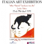 London Art Event April 2015 - I am not Superstitious