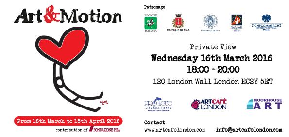 Invitation Art&Motion